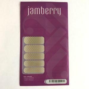 Jamberry Nail Wraps Siren Song Mermaid Gold
